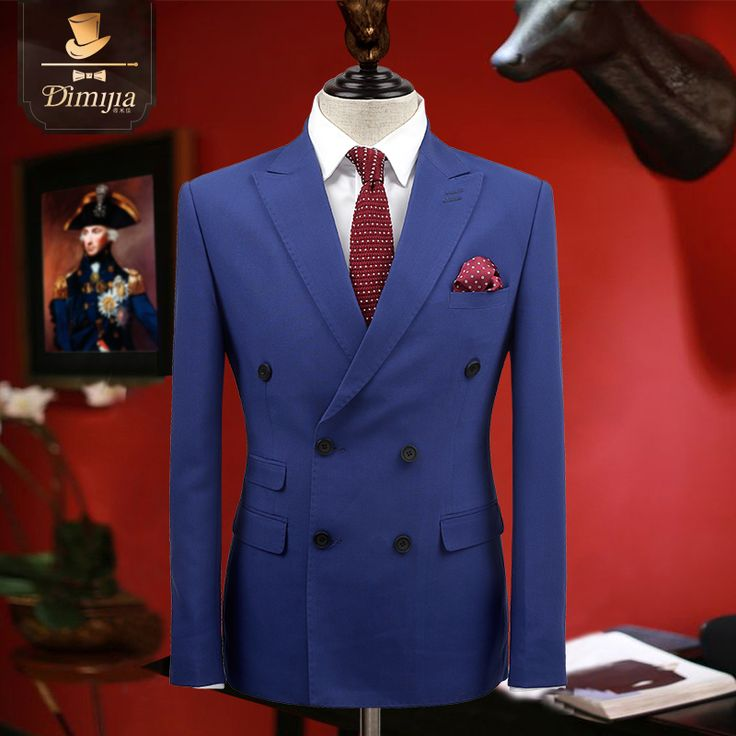 Aliexpress.com : Buy Brand Clothing slim fit formal men suits tuxedo groom wedding suits for men prom suits double breasted Engalnd businnes suits from Reliable suits for men prom suppliers on QiekeStyle Store