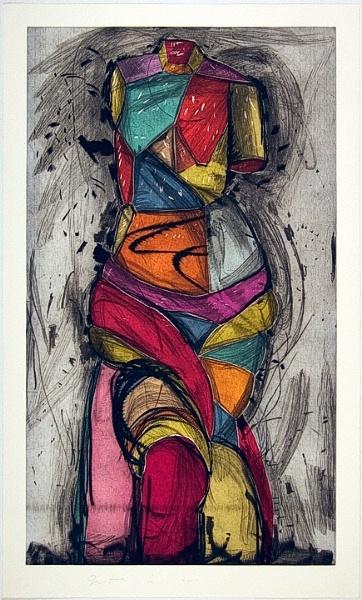 'The Venus Dances' by Jim Dine.