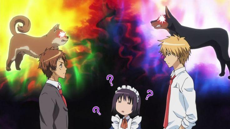 Class President Is A Maid! | Kaichou Wa Maid-sama! | Shintani Hinata, Hyoudou Satsuki, & Usui Takumi