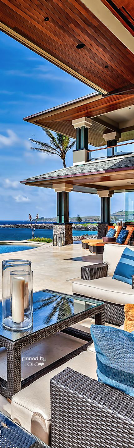 RosamariaGFrangini | Architecture Beach House | 3 Kapalua Place....Maui Beach House |