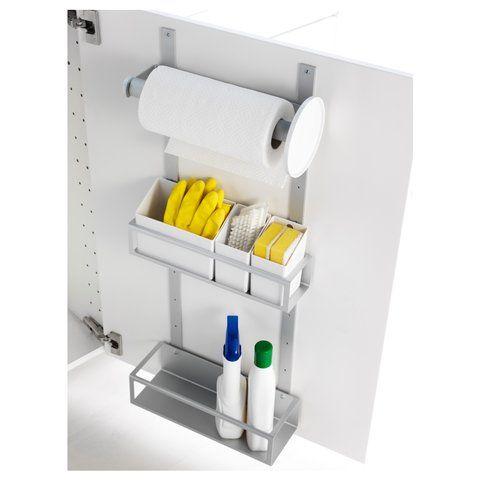 Gi'r dig ekstra opbevaringsplads i dine køkkenskabe. Monteres indvendig på døren og udnytter pladsen i køkkenet optimalt. Læs mere