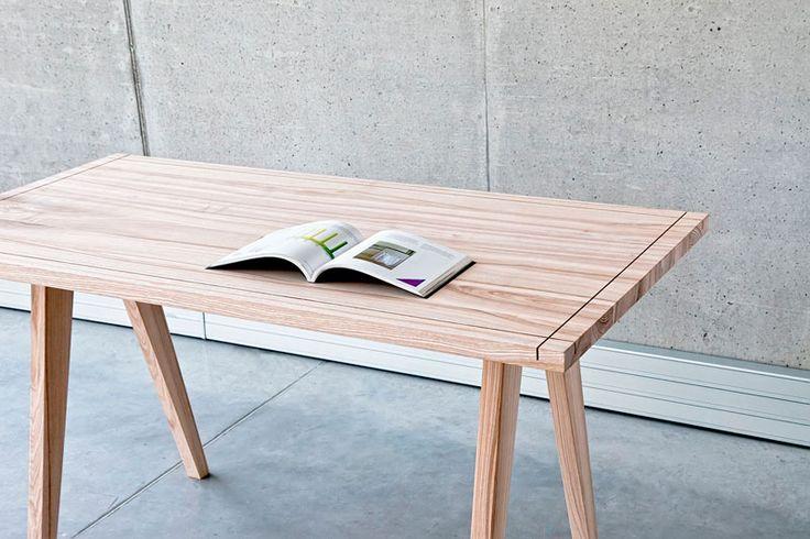 Diseño de una mesa para personas creativas.