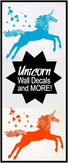 Always be YOU, unless of course you can be a UNICORN, then be a UNICORN!  Lov this wall decal!!