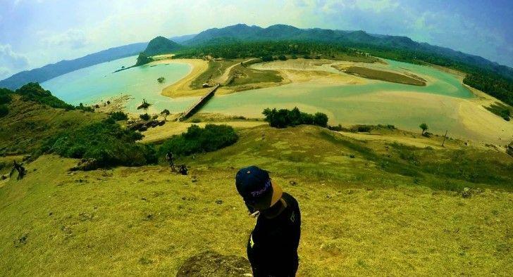 Foto pantai seger lombok