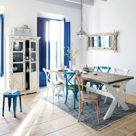 Cobalt shutters /French Style Sea Decor from Maison du Monde