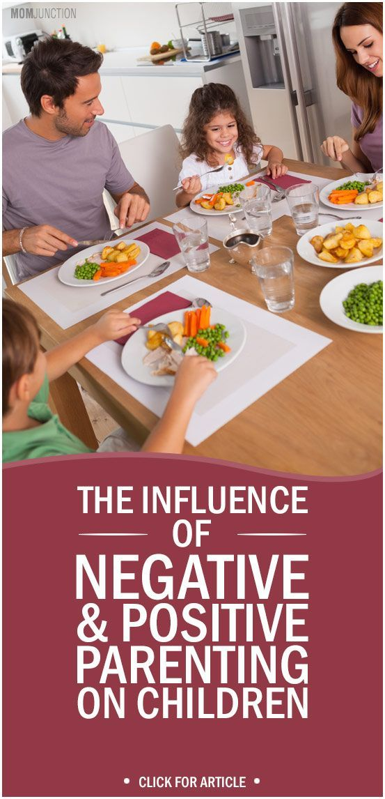 parents as the major influence on the lives of their children Parenting and the different ways it can affect children's lives: parents tend to underestimate their own influence the ways that parents shape their children's development have been a long-standing.