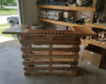 Pallet Bar by RusticRemake on Etsy