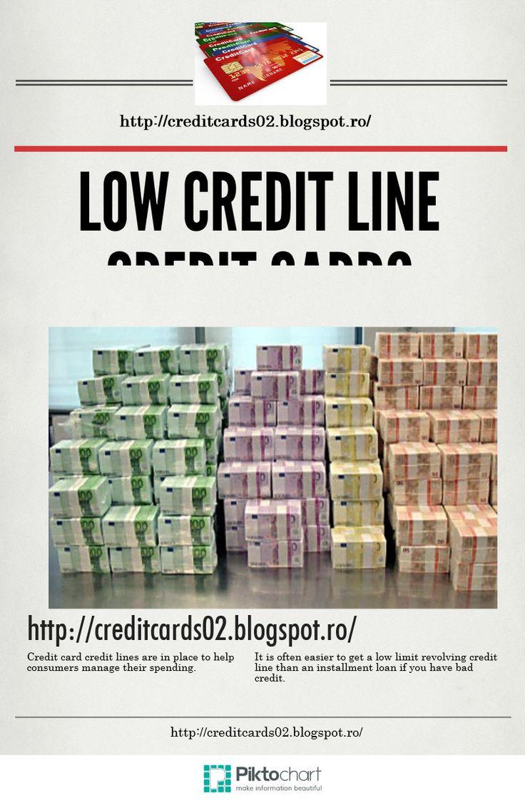 LOW CREDIT LINE CREDIT CARDS