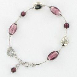 Antica Murrina Babylon #Bracelet - Amethyst #jewellery #murano