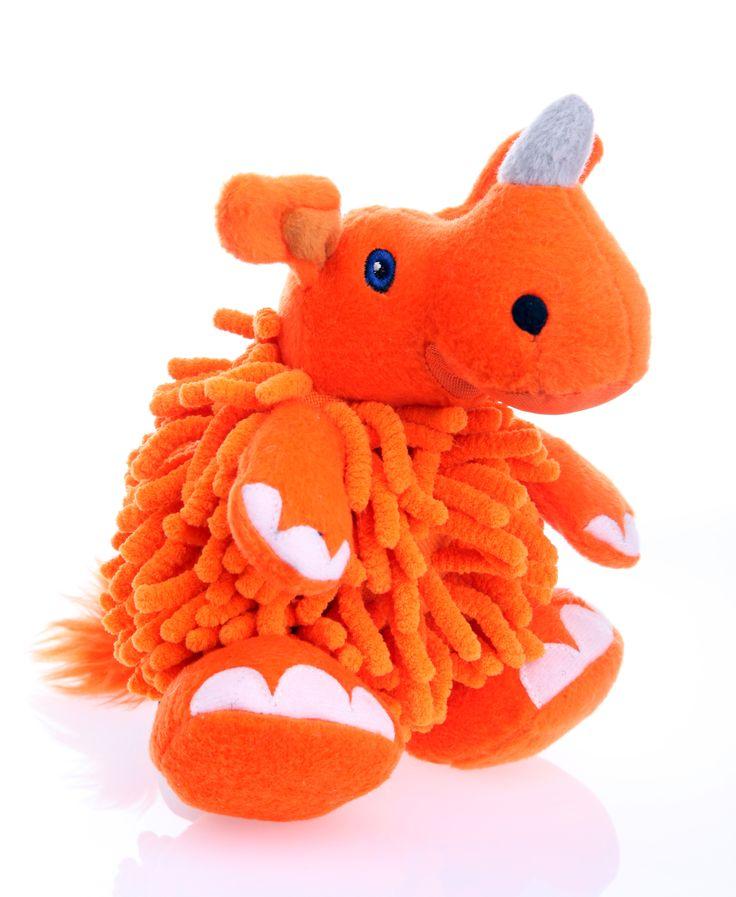 Tough Rhinoceros Dog Toy