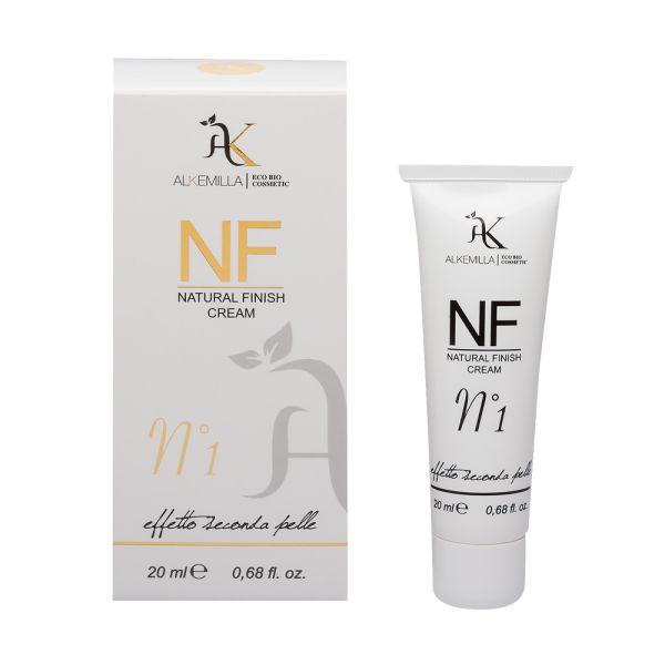 NF Cream Alkemilla è una BB Cream naturale e trasformista, che da soffice crema bianca si trasforma in colore, illuminando e uniformando l'incarnato. #alkemilla #nfcream #bbcream #cosmeticibio #buoninci