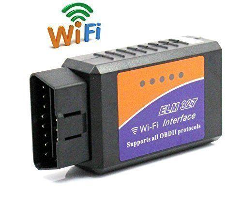 FuriAuto OBD2 OBDII Diagnostic Scanner Automobile WIFI sans fil Auto Scanner pour Voiture Numérisation Adapteur d'outils Compatible avec…