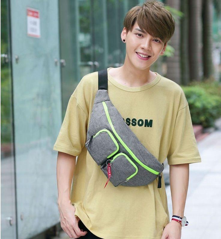 DICKFIST Fashion Shoulder Crossbody Bag Unisex Waist Bag Travel Bag Women Men #DICKFIST #CrossbodyBag