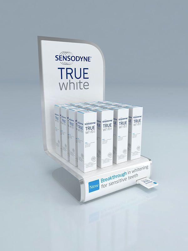 Sensodyne True White Display Unit Design on Behance