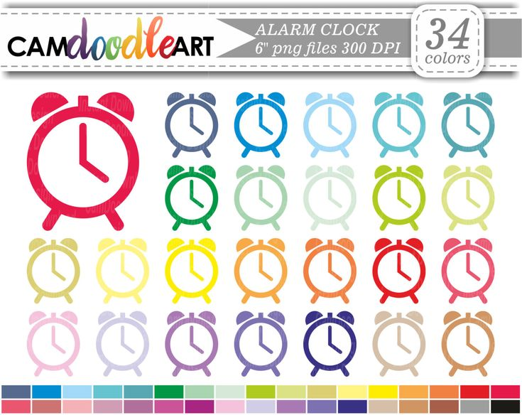Alarm Clock Icon,Time Clipart,Digital Alarm Clock Clipart,Bottle Clipart,Bar Clipart,Scrapbooking,Planner Clipart,Sticker Clipart,png file by CamDoodleArt on Etsy