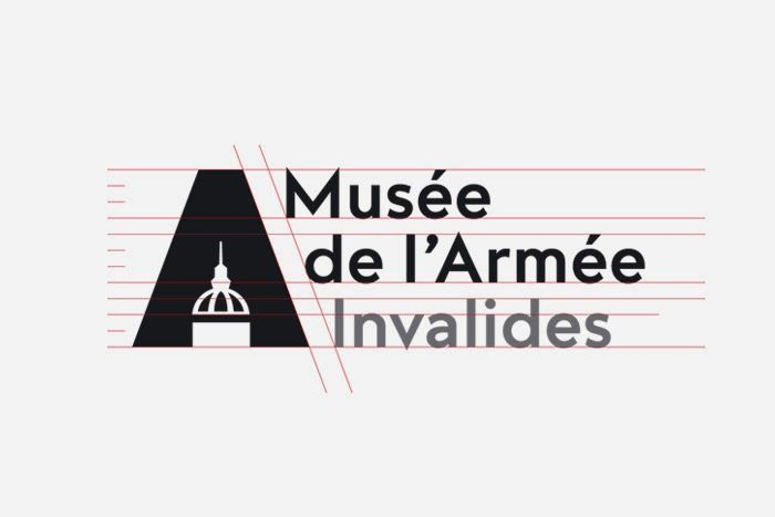 Actualité / Nouveau logo pour le musée de l'armée / étapes: design & culture visuelle