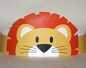 Lion Paper Crown - Printable