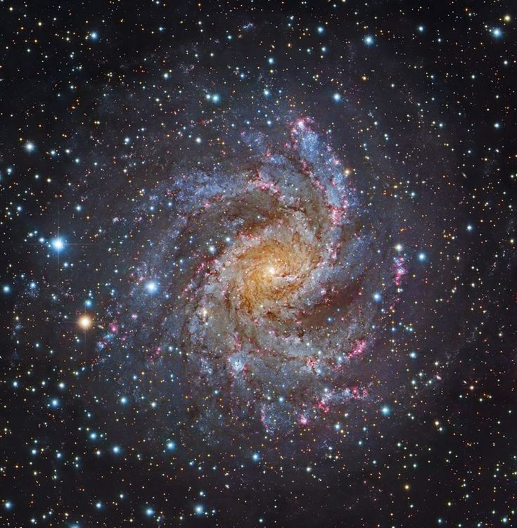 APOD: Facing NGC 6946 (2018 Feb 24) Composite Image Data - Subaru Telescope (NAOJ) and Robert Gendler; Processing - Robert Gendler https://apod.nasa.gov/apod/ap180224.html