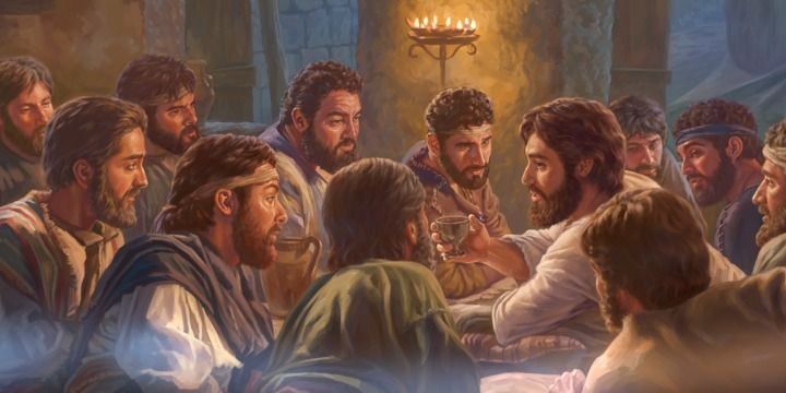 Jesus Last Supper Jesus Ultima Ceia A Ultima Ceia E Licoes Da