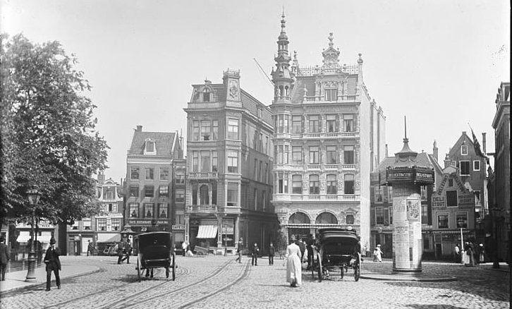 Rembrandtplein Amsterdam (jaartal: Voor 1900) - Foto's SERC