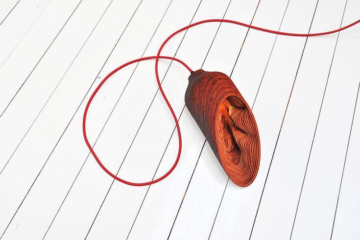 Деревянная лампа BEL light, фото