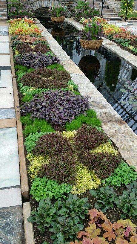 Beautiful Como Conservatory Sunken Garden