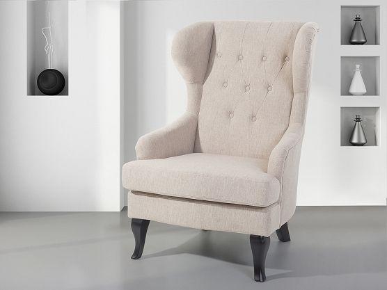 Droom even weg in je eigen troon #oorfauteuil # fauteuil