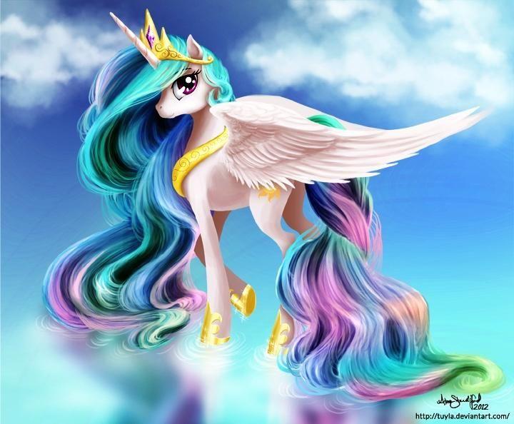 Princess Celestia by Dhalbakken.deviantart.com on @deviantART