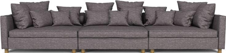 Utrolige herlige mr big fra bolia, den er nydelig som tv sofa. Bør ikke brukes som gjeste sofa. For stor! Men løfter tv stua vår til maks avslapning.