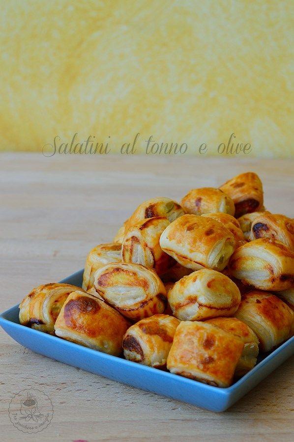 Salatini al tonno e olive #salatini #tonno #olive #aperitivo