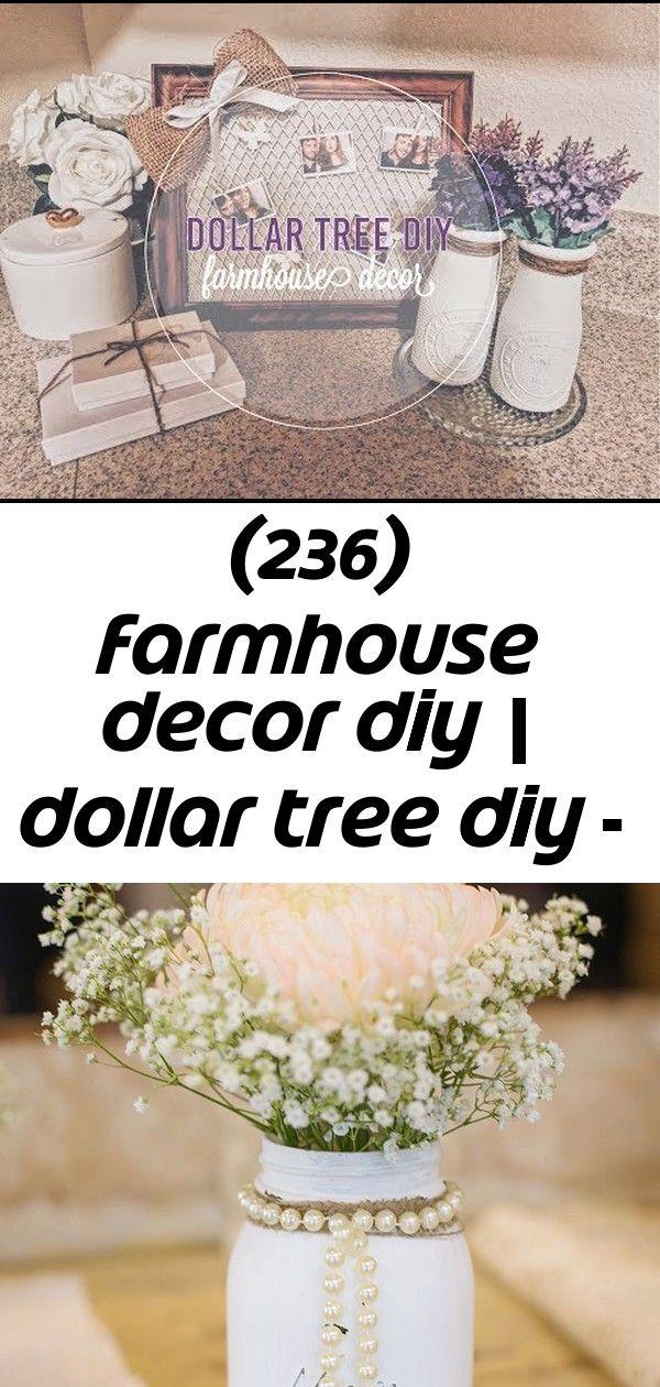 236 Farmhouse Decor Diy Dollar Tree Diy Youtube Diy Farmhouse Decor Decorating On A Dime Dollar Tree Diy