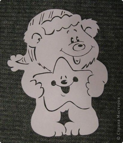 Картина панно рисунок Новый год Вырезание Рябинкин и другие Бумага фото 2
