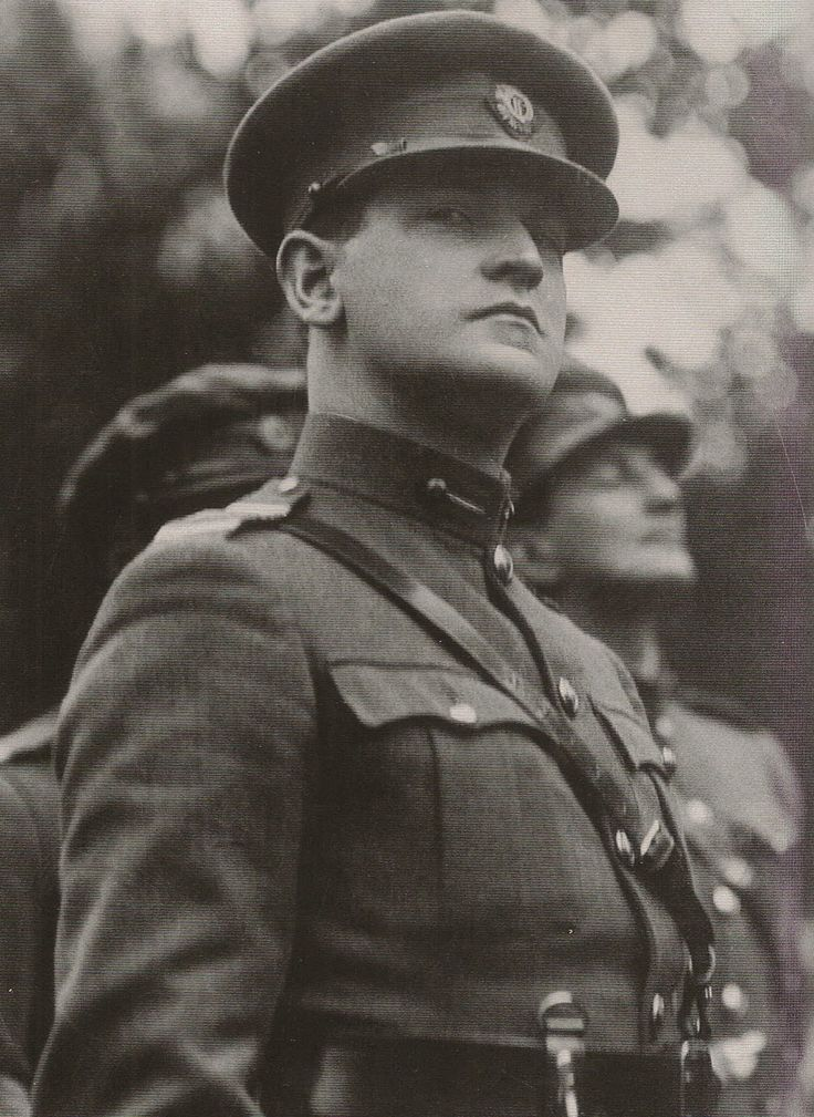 General Michael Collins. If he had lived I think he might have changed Irish history.