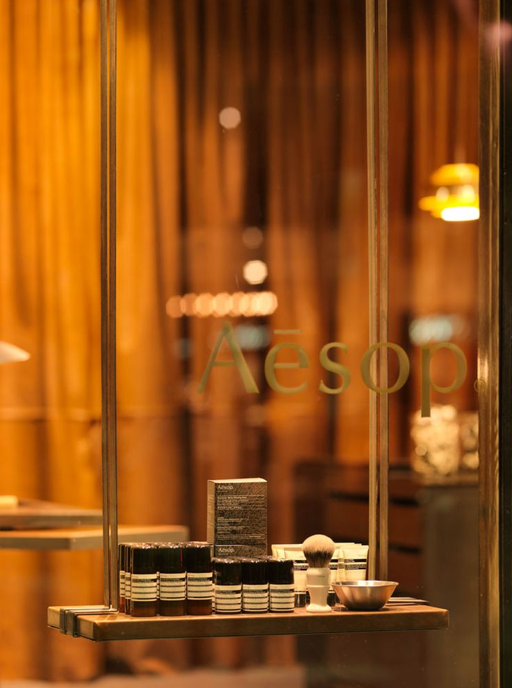 Australian Aesop skincare is known for it's eco-friendliness and fragrant cosmetics