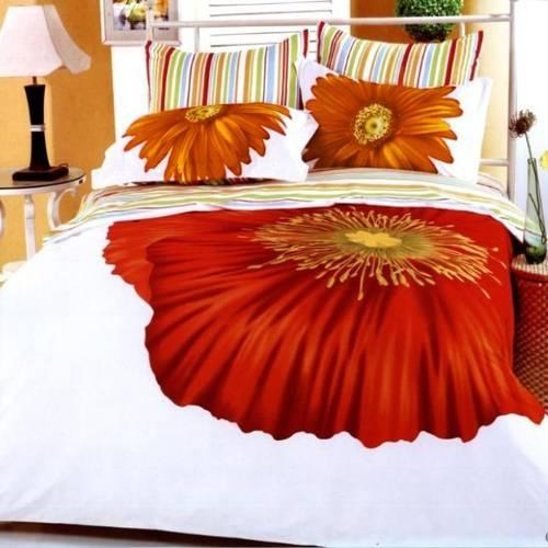 poppy bedding