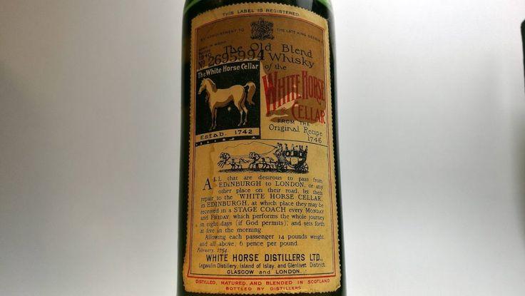 White Horse 1940 – The Old Blend | Malt - Whisky Reviews
