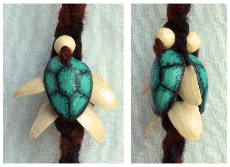 Little pistachio shell turtles!