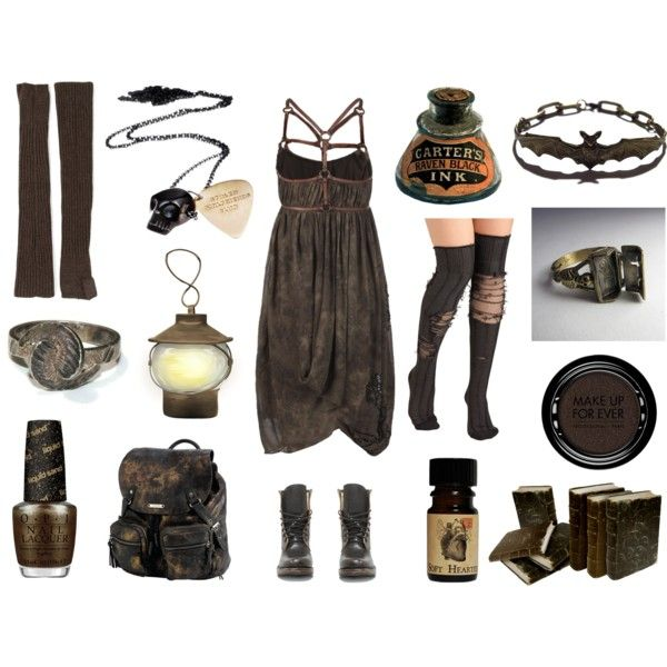 Wastelander by maggiehemlock on Polyvore featuring AllSaints, LISKA, Steve Madden, Roxy, Stolen Girlfriends Club, MAKE UP FOR EVER and OPI