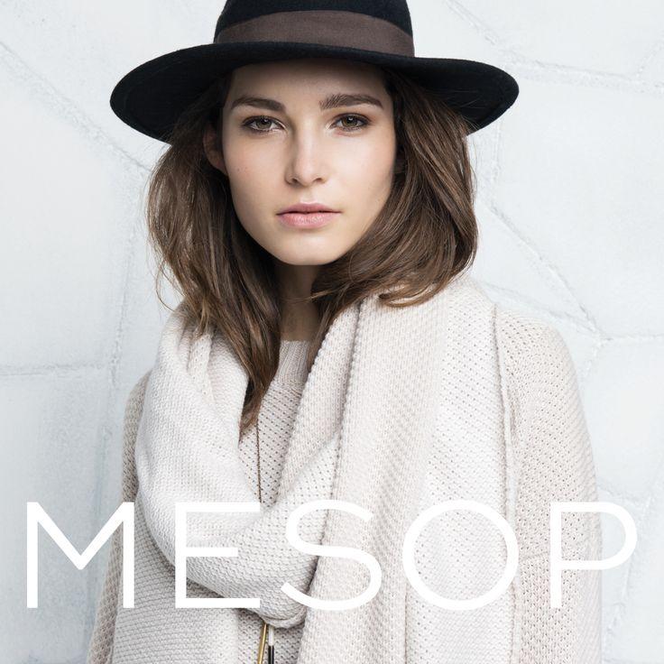 Mesop Fireside Scarf & Sweater | Autumn 2016 Collection 'Elemental'  www.mesop.com