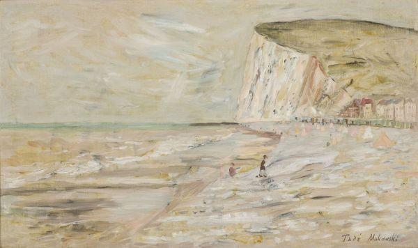 Plaża - Tadeusz Makowski