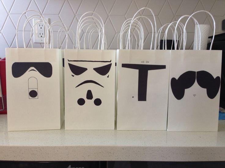 Star Wars goodie bags