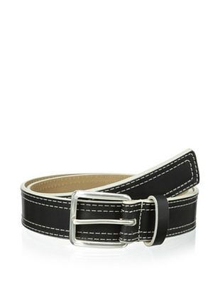 54% OFF Cafe Bleu Men's Casual Belt (Black)