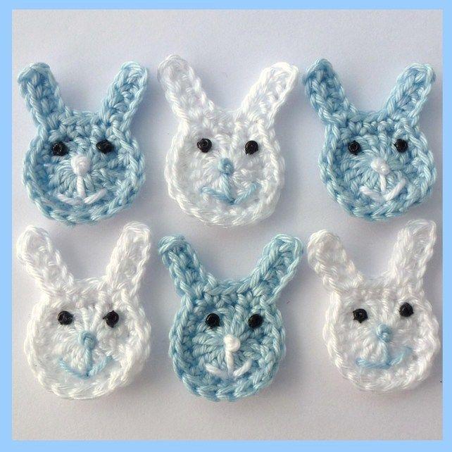 Crochet easter items | Small crochet Easter bunnies - Folksy