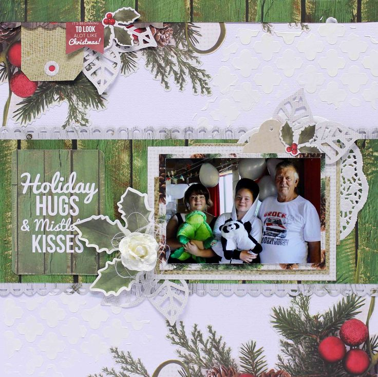 DT Layout For #Kaisercraft Basecoat Christmas - Anita Bownds