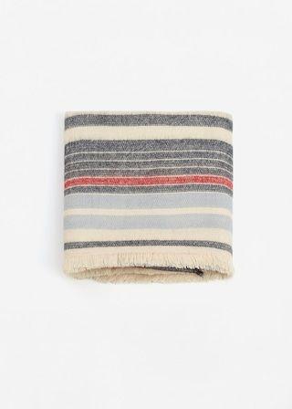 Gestreepte sjaal | MANGO