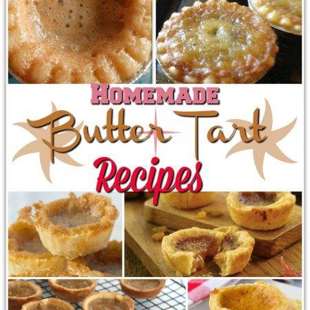 15 Outstanding Homemade Butter Tart Recipes