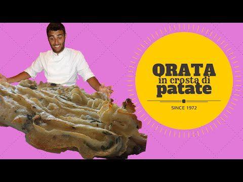 Orata in crosta di patate e limone (facile e veloce) - bream baked in a potato crust - YouTube