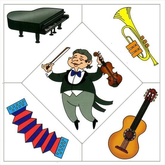 Muzikant (verzamel de juiste puzzelstukjes)