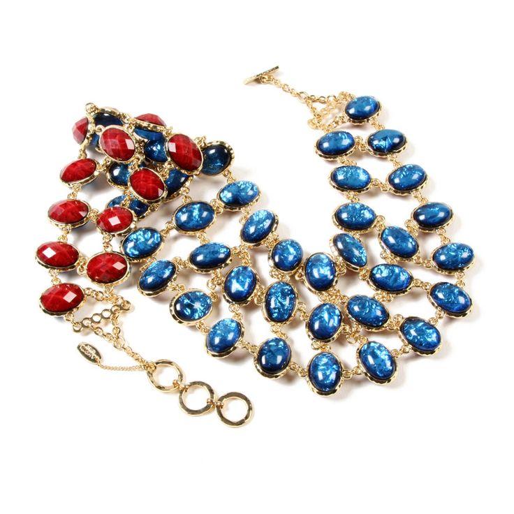 Amrita Reversible Bib Necklace