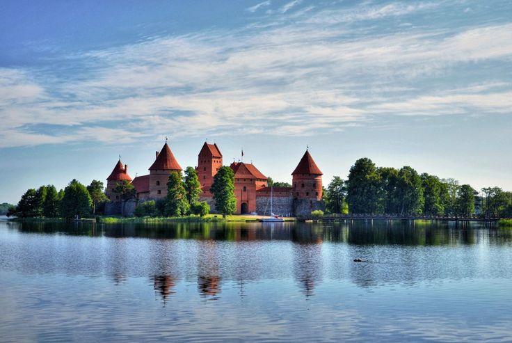Trakai Island Castle, Baltic Road Trip
